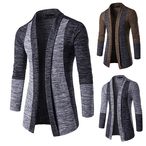 Jacket Winter Warm Knit Cardigan