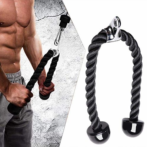 Tricep Rope Cable Machine Attachment