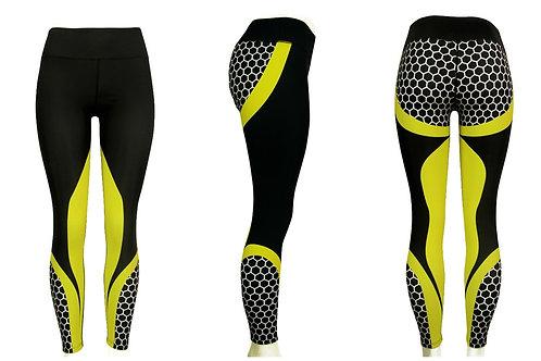 Yoga Pants Honeycomb