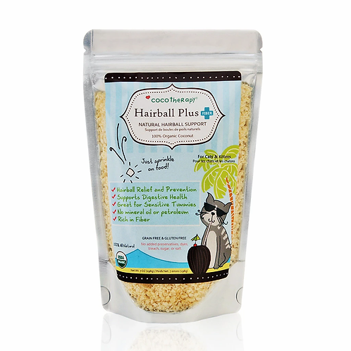 Coco Therapy - Hairball Plus - 7 Ounce Bag