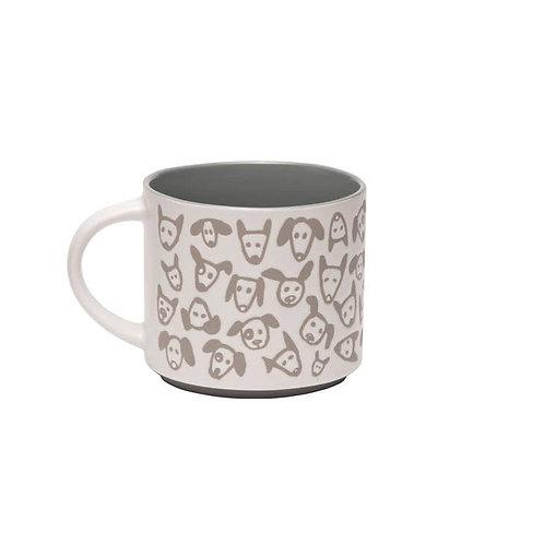 Pop Of Color Mug Doodle Dog