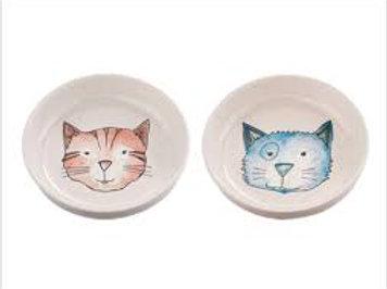 Watercolor Cat Bowl Gift Set