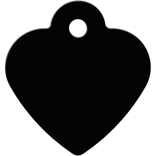 Small Heart Shape Anodized Aluminum Pet ID Tags   *More Colors
