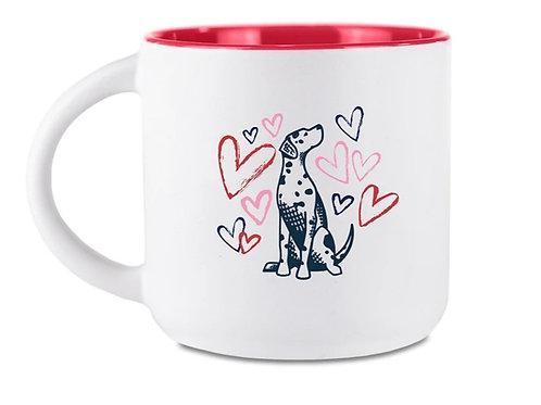 G&H - Hearts & Pups Mug