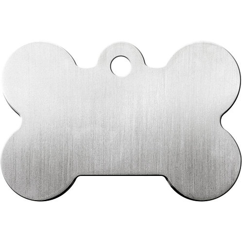 Small Bone Shaped Plated Brass Pet Tag  *More Colors