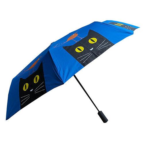 Red Bird on Cat Umbrella