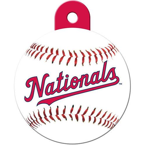 Washington Nationals Pet ID Tag