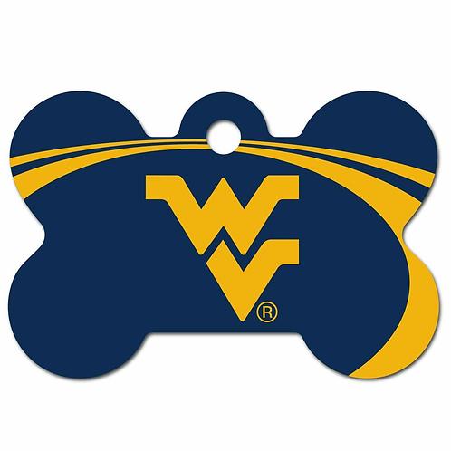 West Virginia Mountaineers Pet ID Tag