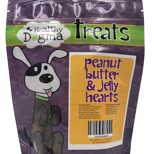 Healthy Dogma - Peanut Butter and Jelly Hearts (6oz)