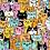 "Thumbnail: Gemma Correll - ""Cattitude"" Jigsaw Puzzle (500pc)"