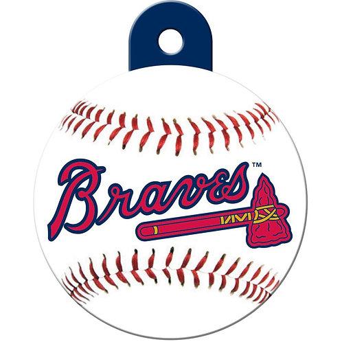 Atlanta Braves Pet ID Tag
