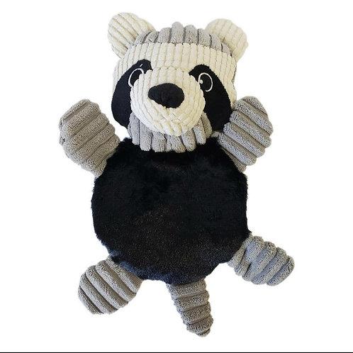 Raccoon Squeaker Plush Toy