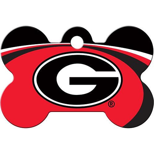 Georgia Bulldogs Pet ID Tag