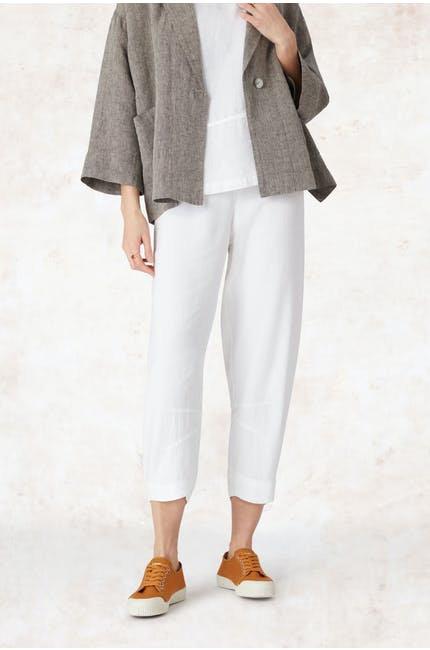Sahara Texture Linen Crop Bubble Pant LAP1391C-HTL