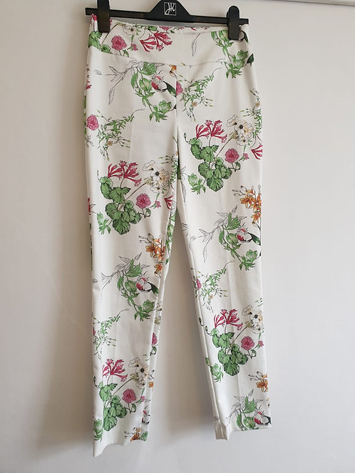 Joseph Ribkoff floral trousers