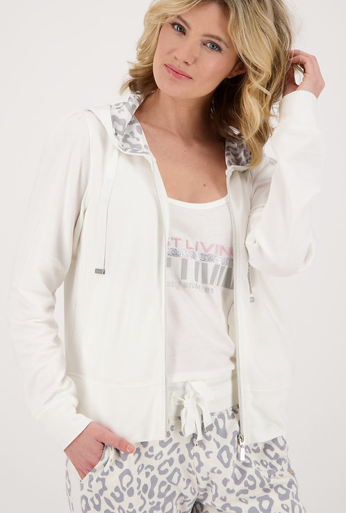 Monari Sweat Jacket with hood 405956