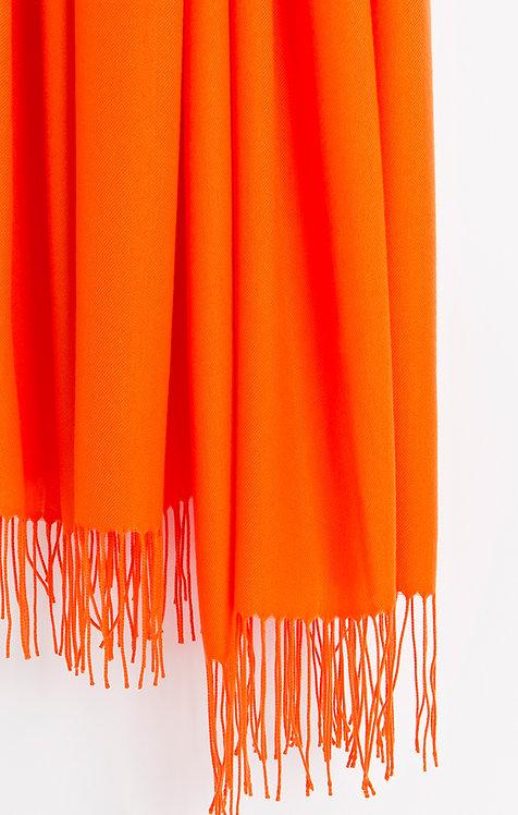 Pia Rossini Orange Pashmina