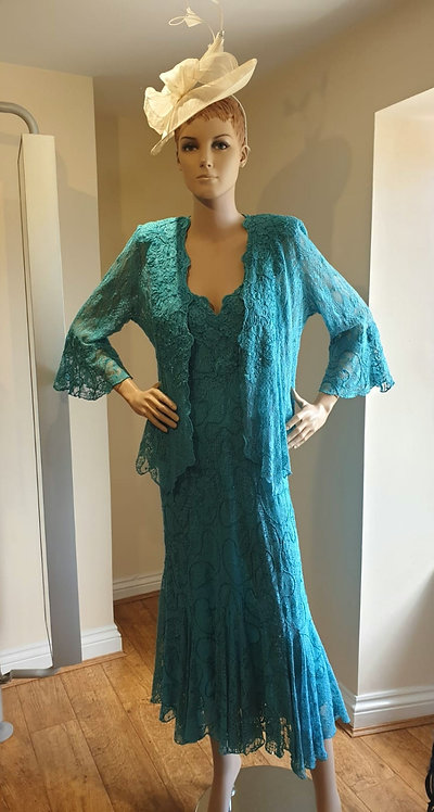 Ann Balon Dress and Jacket