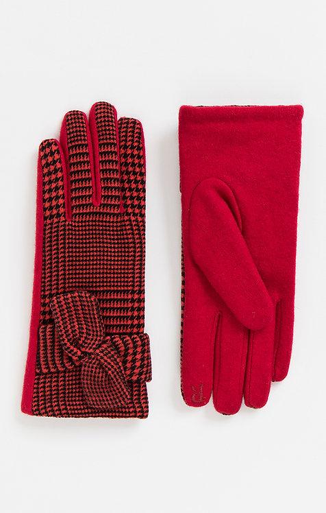 Pia Rossini Vivien Gloves Red