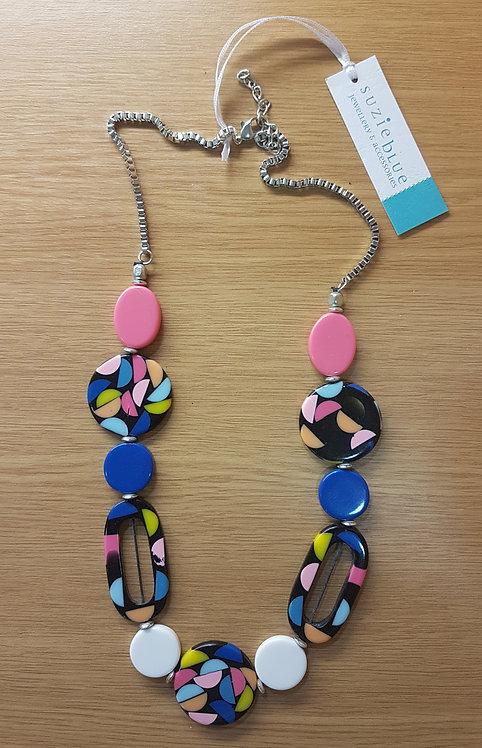 Suzie Blue Necklace LB1014