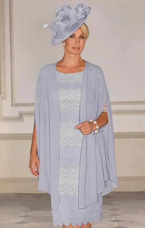 Condici Dress and Chiffon Cape 70993