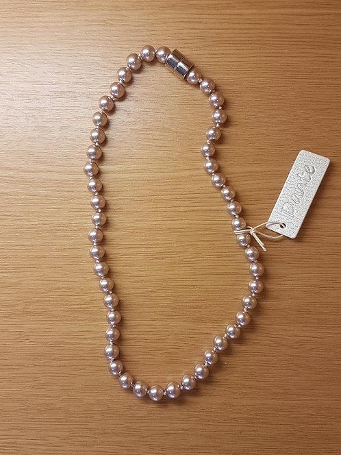 Dante Latte Pearl Necklace NL23526