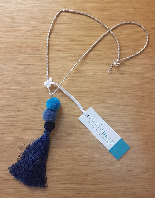 Suzie Blue Necklace MA6801