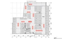 План подземной парковки