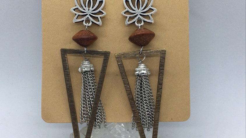 Lotus, Wood, and Tassels