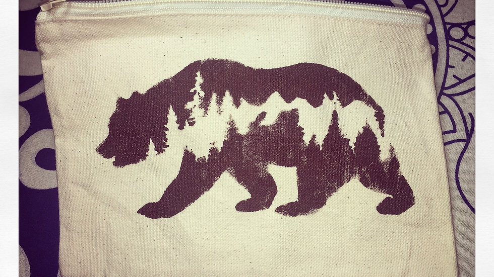 Grizzly Small Canvas Bag