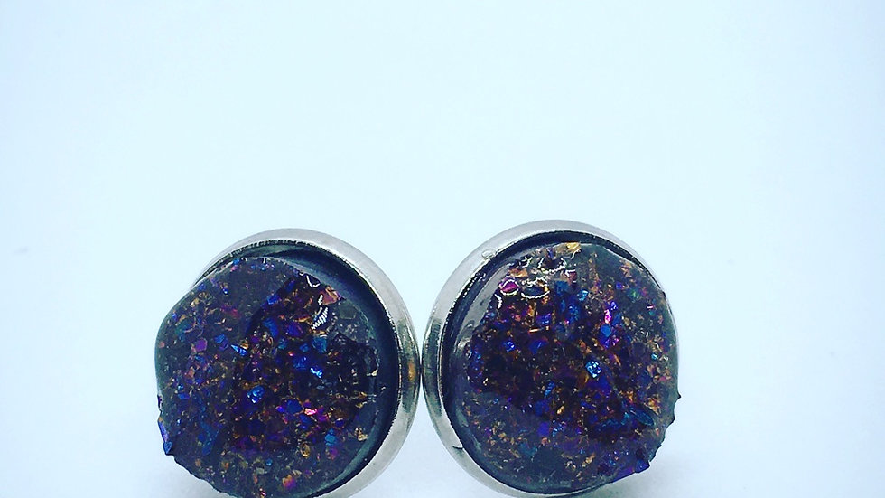 Druzy Style Earrings