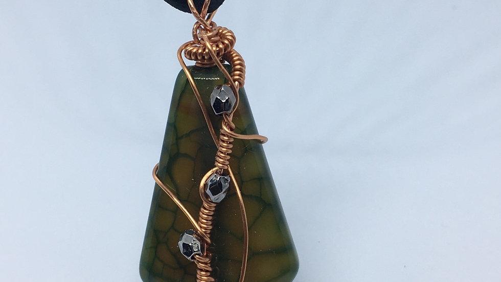Copper Green Dream Pendant