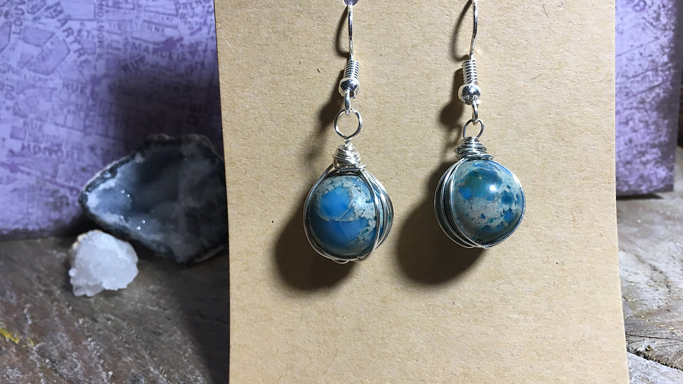 Wrapped Spheres - Blue