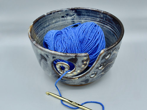 Blue Mist Yarn Bowl