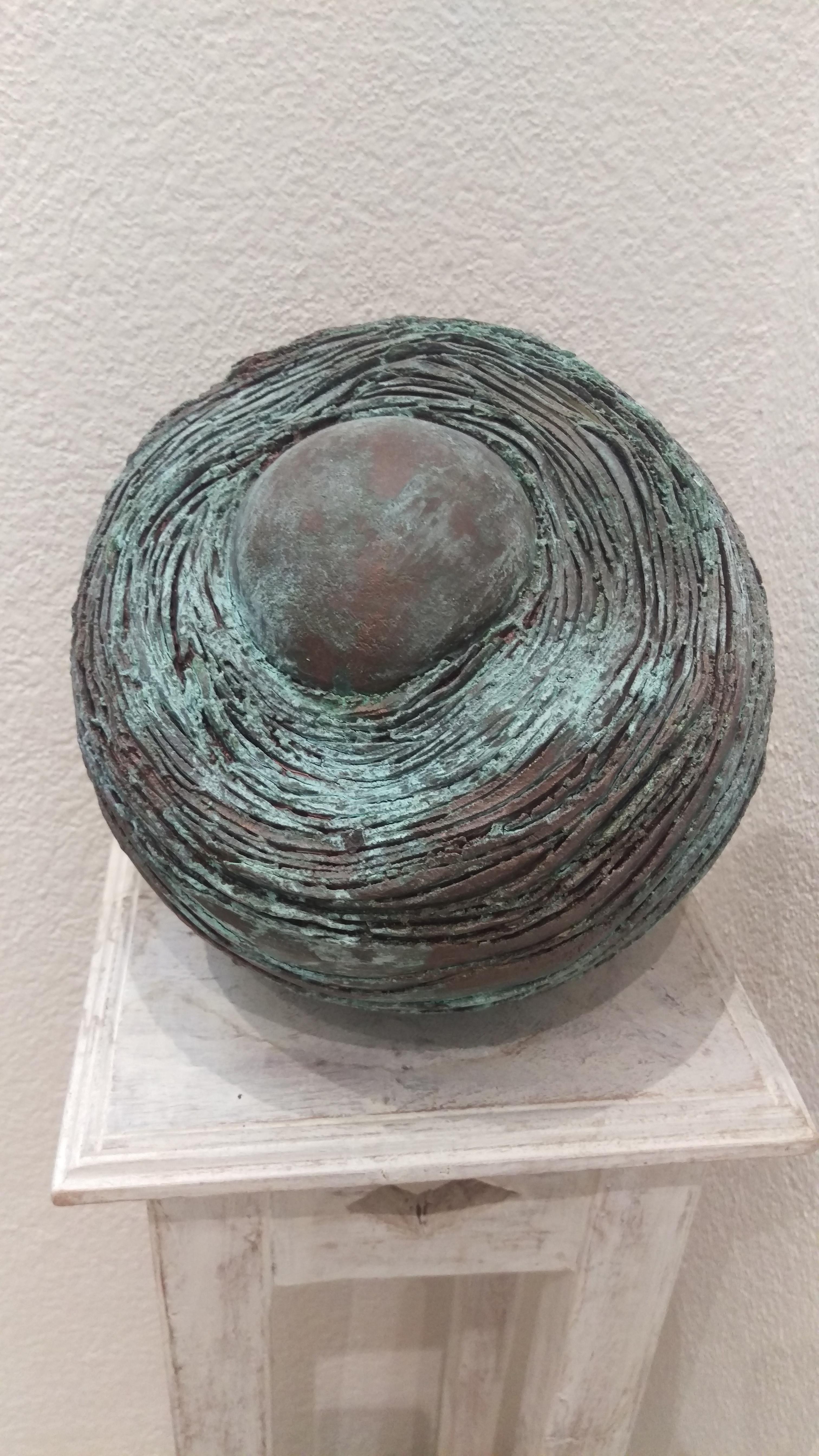 Kugel, Bronze imitiert