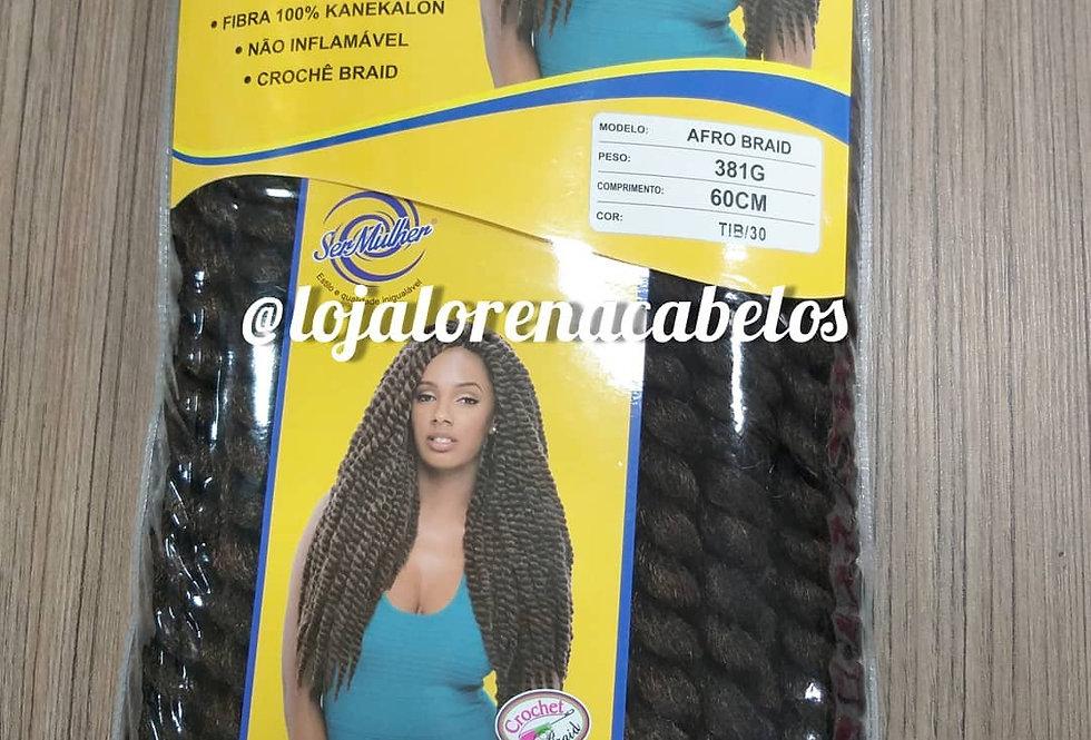 Twists Afro Braid Ser Mulher 381g