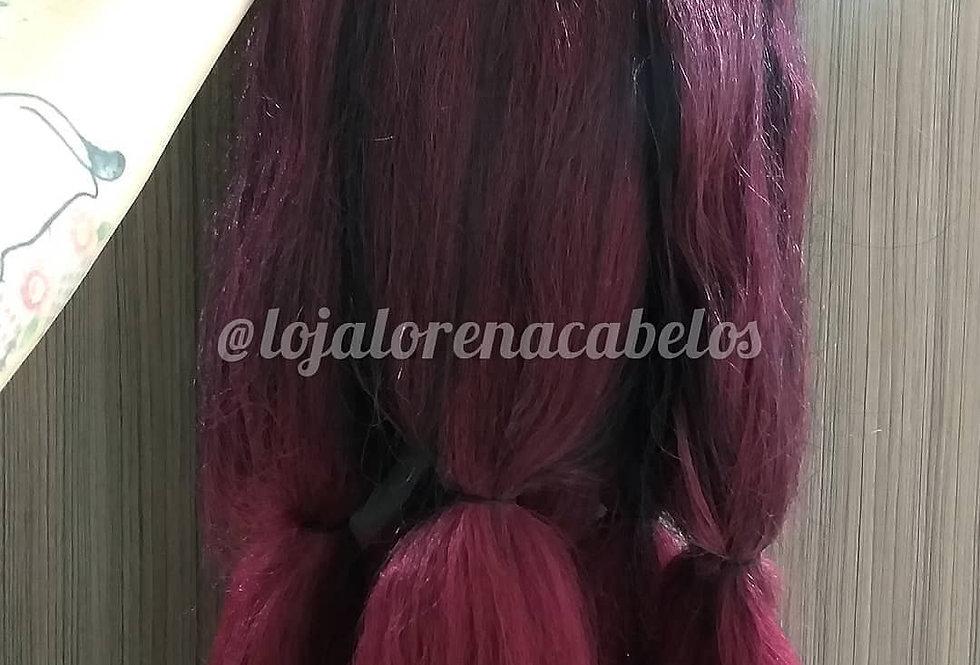 Jumbo Black Beauty 500g Ombré Hair Marsala