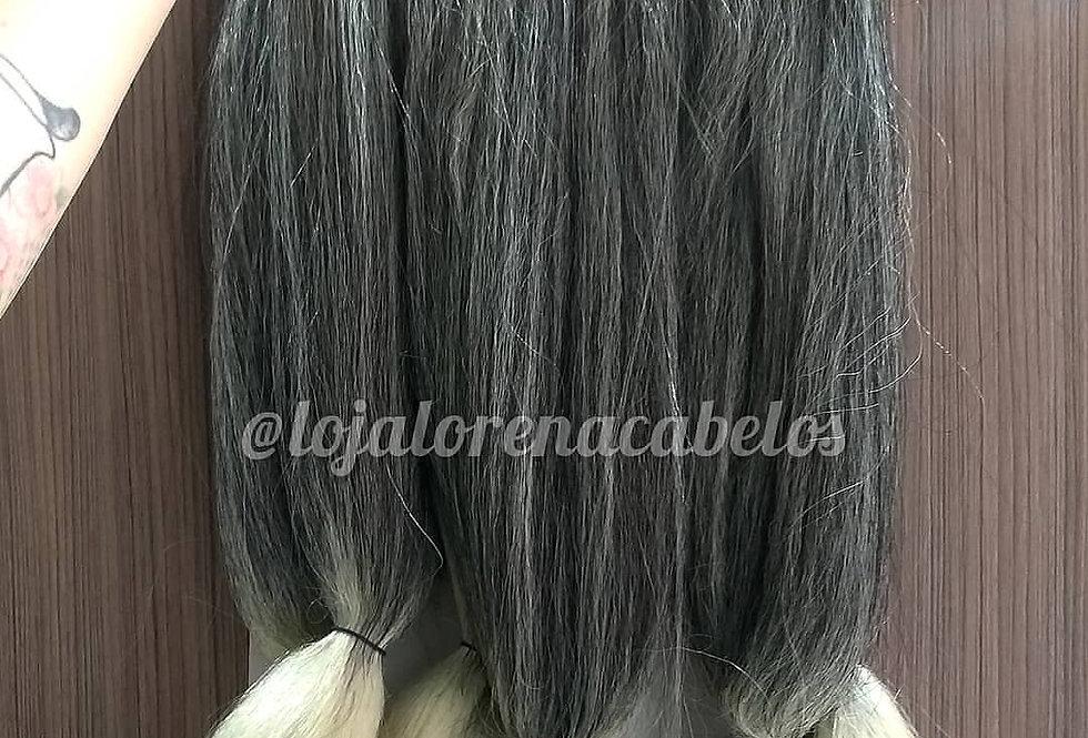 Jumbo Black Beauty Ombré Hair Loiro Mesclado