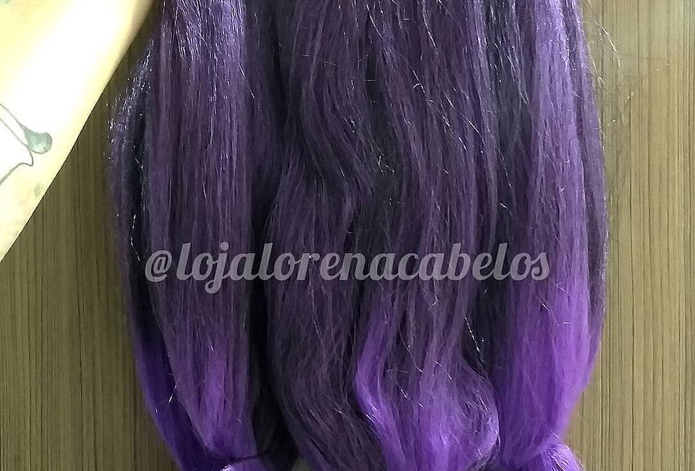 Jumbo Black Beauty 500g Ombré Hair Roxo