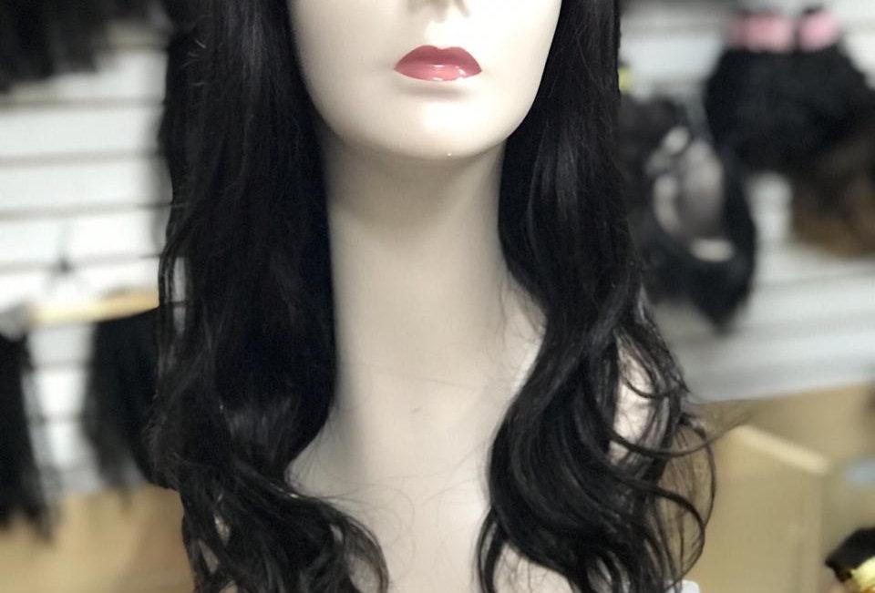 Front lace de cabelo humano 45cm