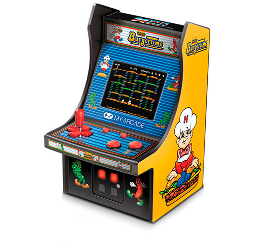 my arcade mini fliperama burgertime