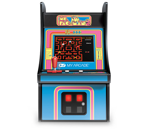 fliperama portatil ms pac man
