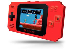 my arcade video game portatil retro pixel player