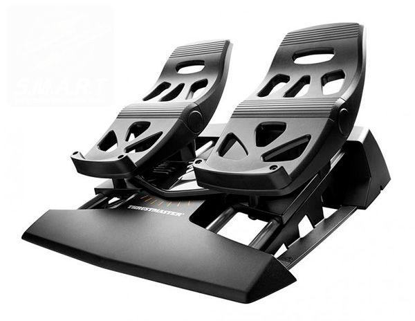 pedais thrustmaster flight rudder pedals TFRP