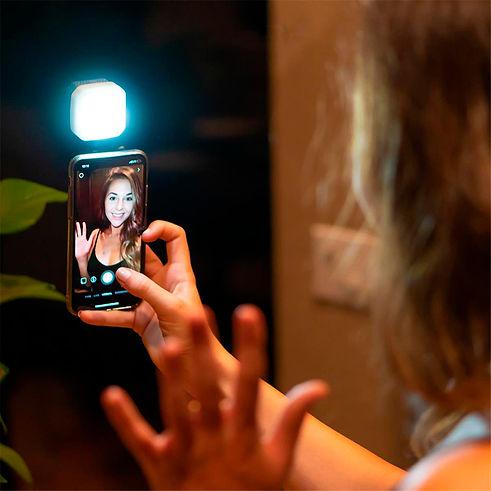 lume cube set smart led para videoconferência