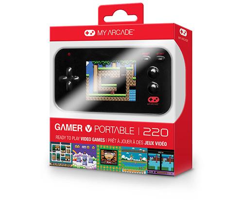 mini video game portatil gamer v