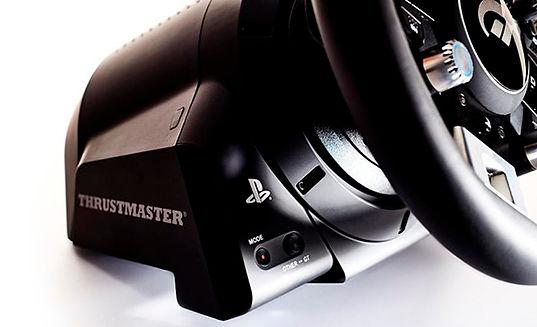 volante com pedais t-gt thrustmaster