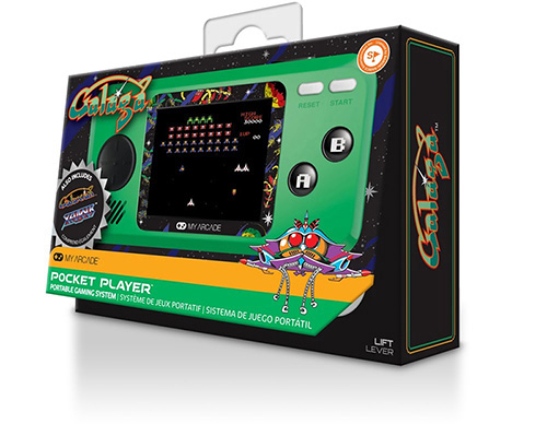 my arcade mini video game galaga