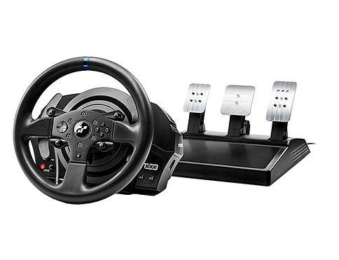 volante com pedais t300rs gt thrustmaster