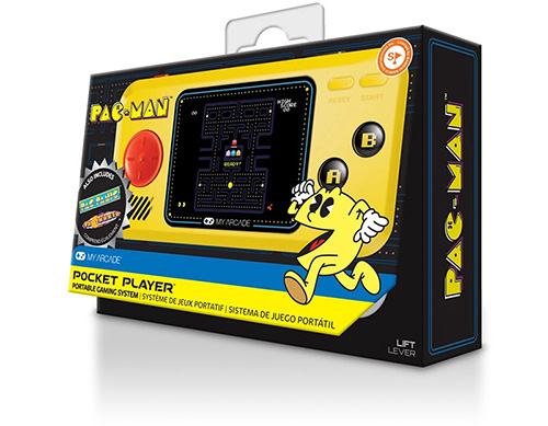 my arcade mini video game pac man